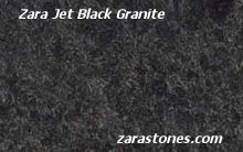 Zara Jet Black Wall Coping Stones