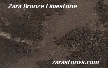 Zara Bronze Wall Coping Stones