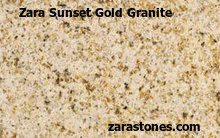 Zara Sunset Gold Wall Coping Stones