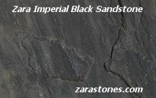 Zara Imperial Black Wall Coping Stones